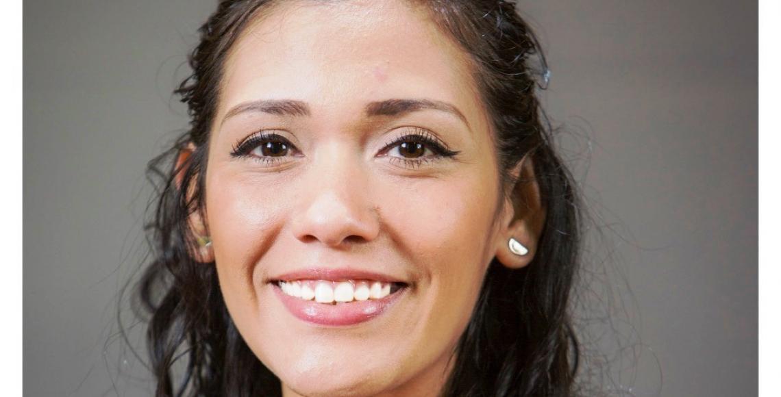 Adriana Salvatierra Adriaza, presidenta de la Cámara de Senadores.