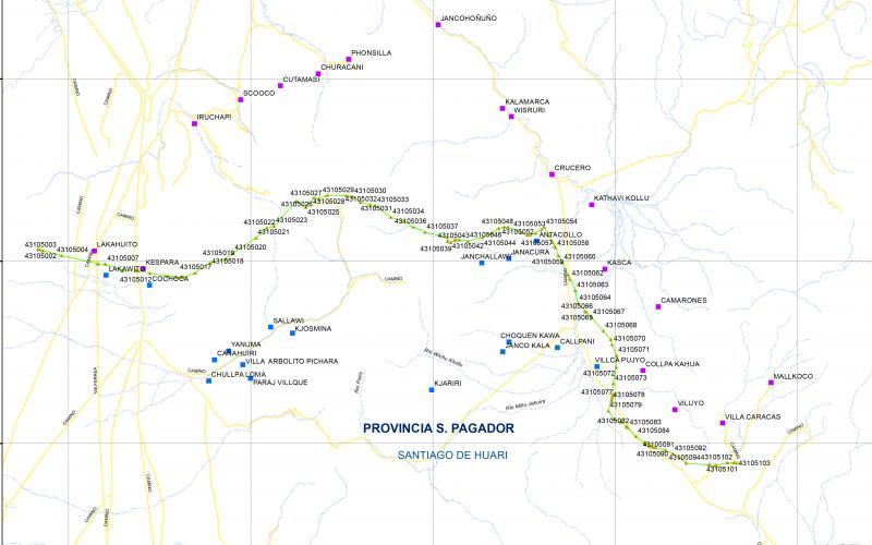 Senado aprueba Proyecto de Ley de Delimitación entre Santiago de Huari y Challapata
